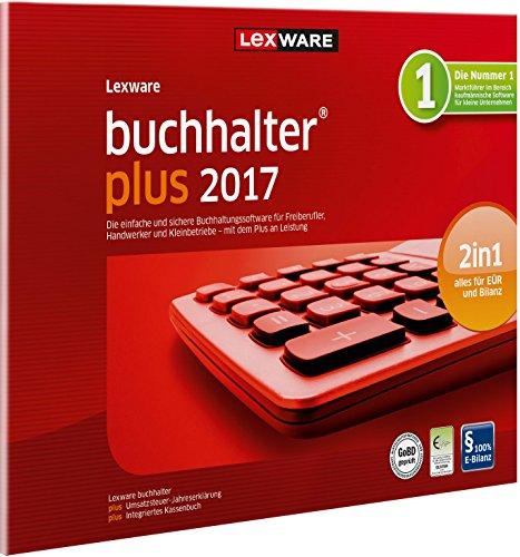 Lexware buchhalter 2017 plus-Version in frustfreier Verpackung (Jahreslizenz) / Einfache Buchhaltungs-Software für Freiberufler, Handwerker & Vereine / Kompatibel mit Windows 7 oder aktueller