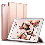 iPad Mini Case, iPad Mini 2 / Mini 3 Case, ESR® iPad Mini Smart Case Cover [Synthetic Leather] and Translucent Frosted Back Magnetic Cover with Sleep / Wake Function [Ultra Slim] [Light Weight] for Apple iPad Mini 1/2/3 (Rose Gold)