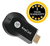 #9: AnyCast WiFi 1080P HDMI TV Dongle Compatible with Xiaomi, Lenovo, Apple, Samsung, Sony, Oppo, Gionee, Vivo Smartphones (One Year Warranty)- by TECHPOOL