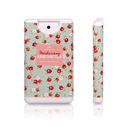 MAD BEAUTY PERSONALE TASCABILE HAND SANITIZER OCCASIONS DIRECT-BORSETTA IN CONFEZIONE REGALO, COLORE: VERDE ACQUA