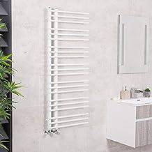 WarmeHaus Hagen 80 x 50 Termoarredo Scalda Salviette Design Scala Piatto Cromato