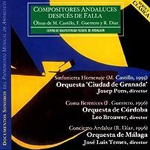 Compositores Andaluces Después De Falla