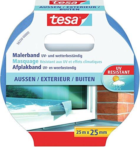 tesa Malerband für Außen, UV- und wetterbeständig, 25m x 25mm