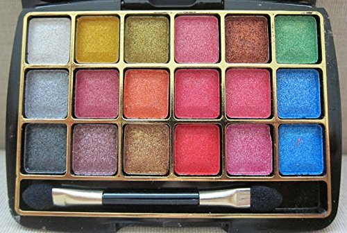Miss Rose Professional Make Up Dreamlike Bright 3D Eye Shadow 18 Color