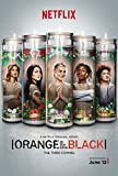 Orange Is the New Black (24x36 inch, 60x89 cm) Silk Poster Seda Cartel PJ15-8C0F