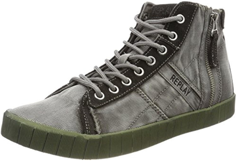 Replay Herren Everet Hohe Sneaker  Billig und erschwinglich Im Verkauf