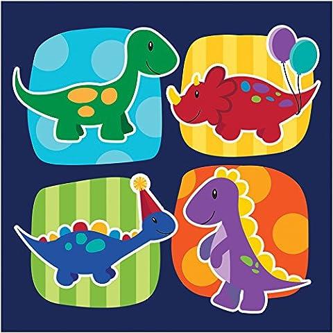 Creative Converting Little Dino partito tovaglioli (16) dinosauro per feste