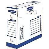 Bankers Box 4474002 Basic Scatola Archivio Extra robusta A4+, Dorso 80 mm, FSC, Confezione da 20