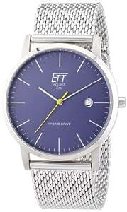 ETT Eco Tech Time Herren-Armbanduhr XL Hybrid Drive Analog Automatik EGS-40138-31M