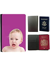 GoGoMobile Hot Style PU Leather Travel Passport Wallet Case Cover // Q05700621 crying baby Byzantine // Universal passport leather cover