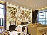 ADLFJGL Grandes 3D Estéreo Mapa Antiguo Del Mundo Mural Dormitorio Salón Sofá Videos Papel Para Pared De Fondo 200×140Cm Frisos De Papel Pintado Papel Pintado