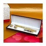 Giftacrossindia Royal Golden Pen with Ti...