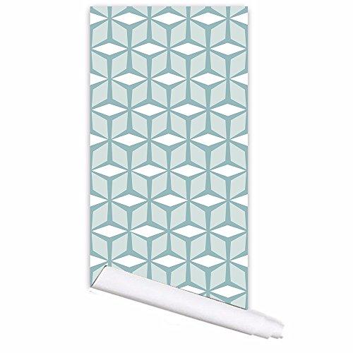 n für Halloween Das Büro des Schlafzimmer Wohnzimmer Renovierung wallpaper einfach Cube wasserdicht Selbstklebendes Wallpaper Wallpaper (53 * 122 cm * 1 pcs) danach; ()