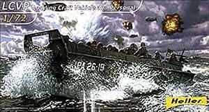 Heller - 79995 - Construction Et Maquettes - Lcvp Landing Craft Vehicle Personal - Echelle 1/72ème