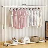 LE Kleiderständer LE Industrie/Rohr/Kleidung/Rack Indoor Racks/Boden Single Rod Dryers/Schlafzimmer Kleiderbügel/Balkon,J