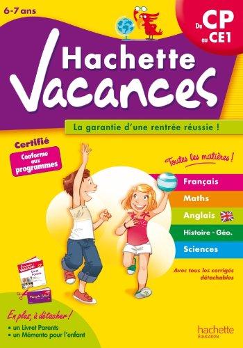 Hachette Vacances - du CP au CE1 par Daniel Berlion