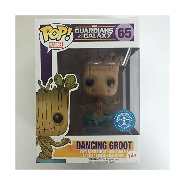 Funko Pop Dancing Groot con «I am Groot» en tiesto (Guardianes de la Galaxia 65) Funko Pop Guardianes de la Galaxia
