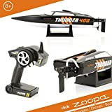 ACME - zoopa Trueno | 400 lancha | incl 2,4Ghz mando a distancia | Ready to Race (ZA0400).