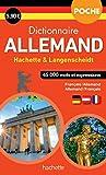 Dictionnaire Poche Hachette Langenscheidt - Bilingue Allemand