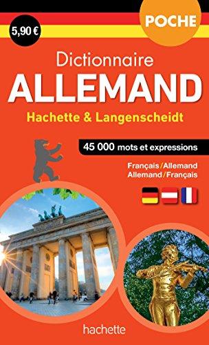 Dictionnaire Poche Hachette Langenscheidt - Bilingue Allemand par Collectif