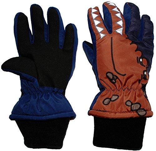Unbekannt Fingerhandschuhe mit Schaft / Strick Bündchen - -