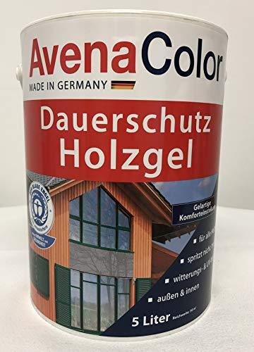 Avena Color Dauerschutz Holzgel 5 Liter Nussbaum