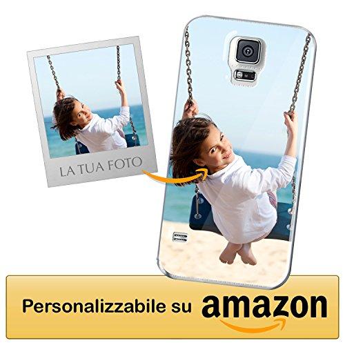 Cover Personalizzata Samsung Galaxy S5 / Samsung Galaxy S5 Neo - Custodia Morbida e Trasparente - Stampa di altissima qualità