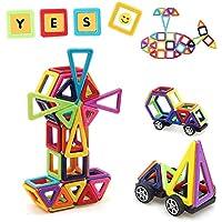 Uping Costruzioni Magnetiche per Bambini 82 Pac Giocattolo e Regalo per Bambini