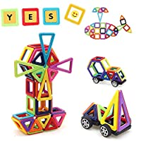 La creazione di giocattoli ad alta tecnologia dei blocchi magnetici di Uping può migliorare la capacità di bambino in tutti gli aspetti. Aiutare l'intelligenza spaziale visiva dei bambini per il movimento e lo sviluppo del pensiero spaziale. Ment...
