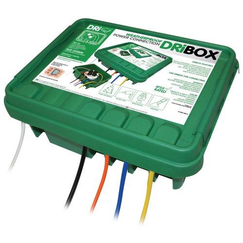 Dri Box 285 IP55 Weatherproof Green -