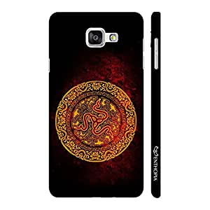 Enthopia Designer Hardshell Case The Chinese Snake Back Cover for Samsung Galaxy A3 (2016)