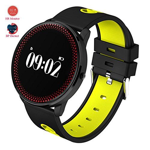 MOREFINE Bluetooth Pulsera inteligente Smartwatch Reloj Deportivo Fitness Tracker de actividad Impermeable al aire libre 0.96