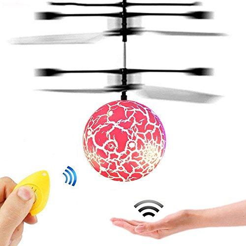 Spaß-kreatives Spielwaren für 3-16 jährige Jungen, GZMY LED blinkender Blinkt Fliegende Spielzeug Hubschrauber 3-12 jährige Jungen-Mädchen-Geschenke Weihnachtsgeschenke
