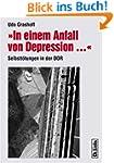 »In einem Anfall von Depression ...«...
