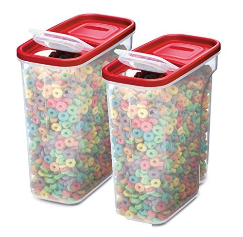 Rubbermaid Modular Müsli Keeper, farblos, 18 Cup, Pack of 2 -