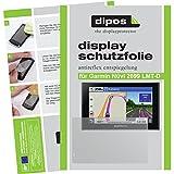 dipos Garmin Nüvi 2699 LMT -D / Camper 660 LMT-D Schutzfolie (6 Stück) - Antireflex Premium Folie matt