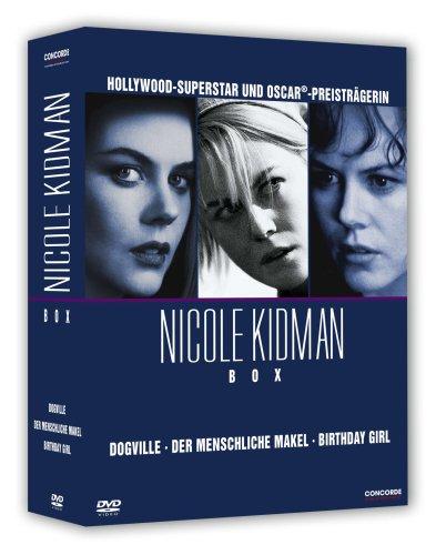 Bild von Nicole Kidman - Box (enthält die Filme Dogville, Der menschliche Makel und Birthday Girl) [3 DVDs]