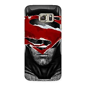 Stylish Premier Deal Multicolor Back Case Cover for Samsung Galaxy S6 Edge