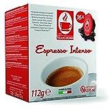 CB-LVZZ-INTENSO Crema 30% Arabica 70% Robusta| TIZIANO BONINI kompatibel Lavazza A Modo Mio ® 16 Kapseln alternative Kaffeekapsel Espresso Cappuccino Milchkaffee Café Crème, Latte Macchiato