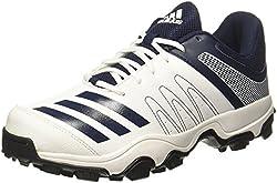 Adidas Mens Howzatt Ind Ftwwht/Conavy Cricket Shoes - 8 UK/India (42 EU)