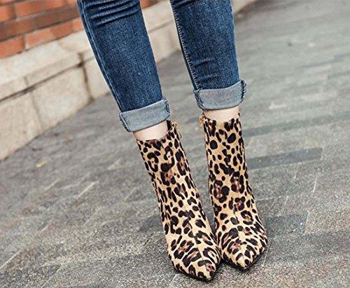 64bafbeffe863e ... Chelsea Shoe Bow Pointe Astuce Botte Bas Tube Talon Kitty Chaud Automne  Hiver Haut Talon En