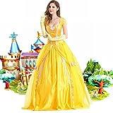 WEII Disfraz de Halloween Performance Disfraz de Princesa Adulto Princesa Belle Costume,Imagen,XXL
