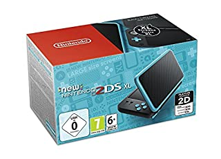 New Nintendo 2DS XL Noir+Turquoise (B071NJBW3J) | Amazon price tracker / tracking, Amazon price history charts, Amazon price watches, Amazon price drop alerts