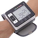 GAIHU Muñeca monitor de presión arterial portátiles tipo botón de Pantalla Digital LCD Función de memoria para el hogar y uso de viaje