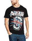 Asking Alexandria Herren T-Shirt Gr. Medium, Schwarz - Schwarz