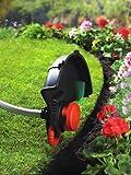 Black+Decker Elektro-Motorsense (800W, mit E-Drive Technologie, Kantenschnittfunktion, 6 Hochleistungsfäden) GL8033, schwarz orange - 7