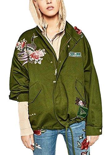 minetom-coat-jacket-para-mujer-clasico-bombardero-chaqueta-moda-bordado-flores-pajaros-verde-militar