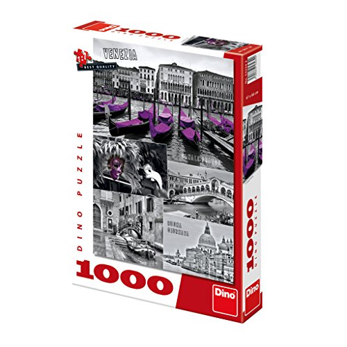 r Qualität Puzzle;Venedig-Collage, 1000 Stück (Party Supplies-party-stadt)