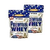 Weider Premium Whey Protein ( 2 x 500g = 1000 g),Erdbeere-Vanille
