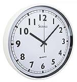 Wanduhr Classic 37cm Weiß Küchenuhr Uhr